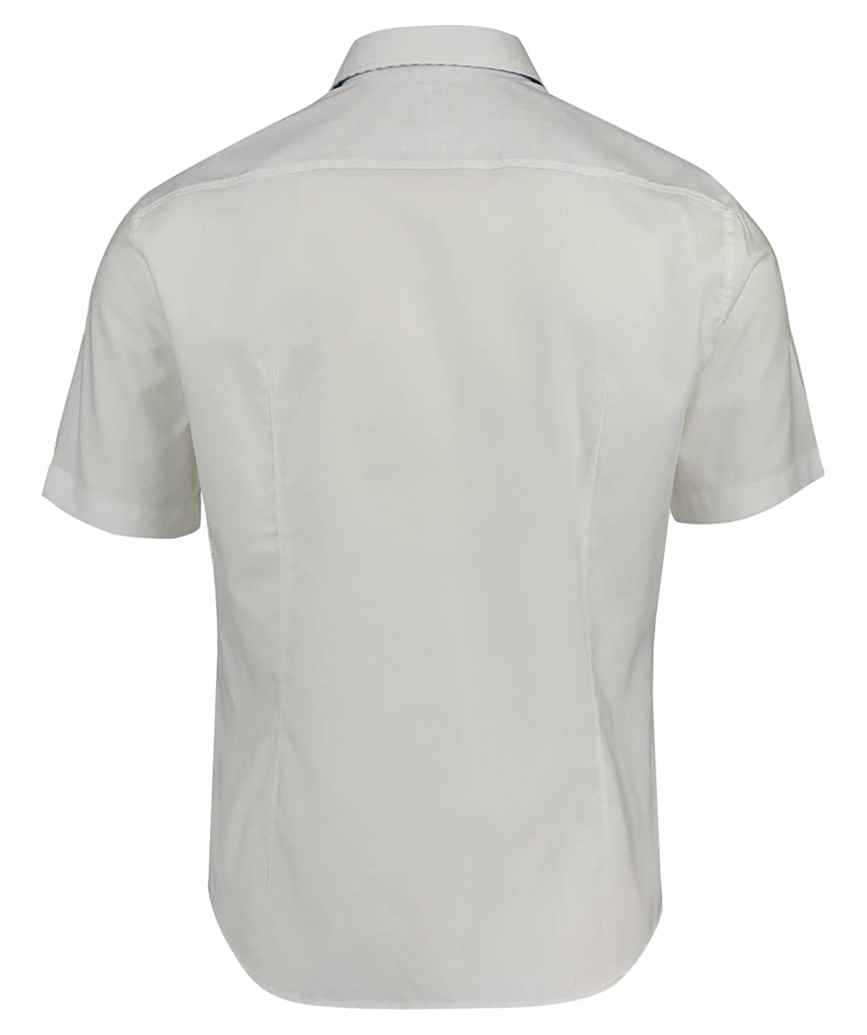 eeece9a8a BOSS Green Short Sleeve Shirt C-Busterino in White: Amazon.co.uk: Clothing