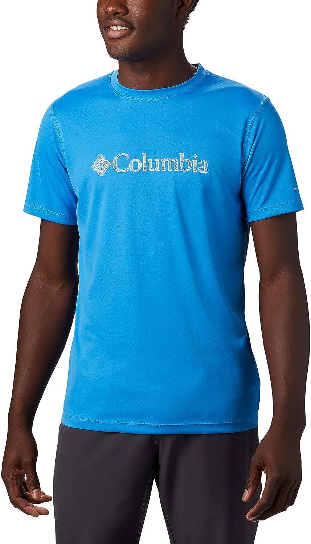 Columbia Mens Zero Rules Short Sleeve Graphic Shirt