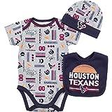 NFL Houston Texans Unisex-Baby Bodysuit, Bib