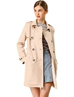 cupcakes and cashmere Womens Aurette Lace Trench Coat CI100141