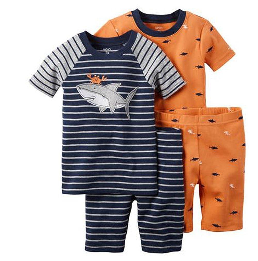 最大80%オフ! Carters Piece 4 Carters Piece 4 PJ Set幼児/子供Sharkyブルー12 M B06Y3C4D1R, タヌママチ:ec104d7a --- a0267596.xsph.ru