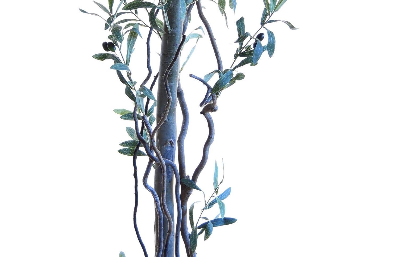 Arbre Artificiel Mixte Maia Shop 1245 Eucalyptus B/ûches Naturelles fabriqu/ées avec Les mat/ériaux 105 cm id/éal pour d/écoration de Maison