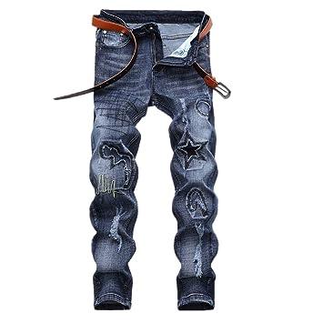 Jeans calientes Pantalones vaqueros para hombres Pantalones ...