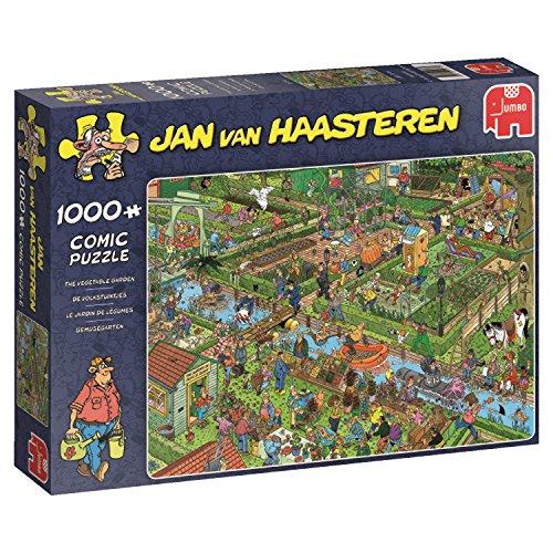 Jumbo Jan Van Haasteren The Vegetable Garden Jigsaw Puzzle (1000 Piece) ()