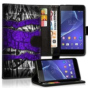 Wallet Wicostar–Funda Case Funda Carcasa diseño Funda para Samsung Galaxy A3–Diseño Flip mvd75