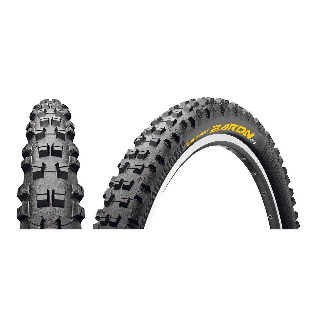 Continental MTB Reifen 'Der Baron 2.5' 6 Lagen 360 tpi (Größe  62-559 schwarz)
