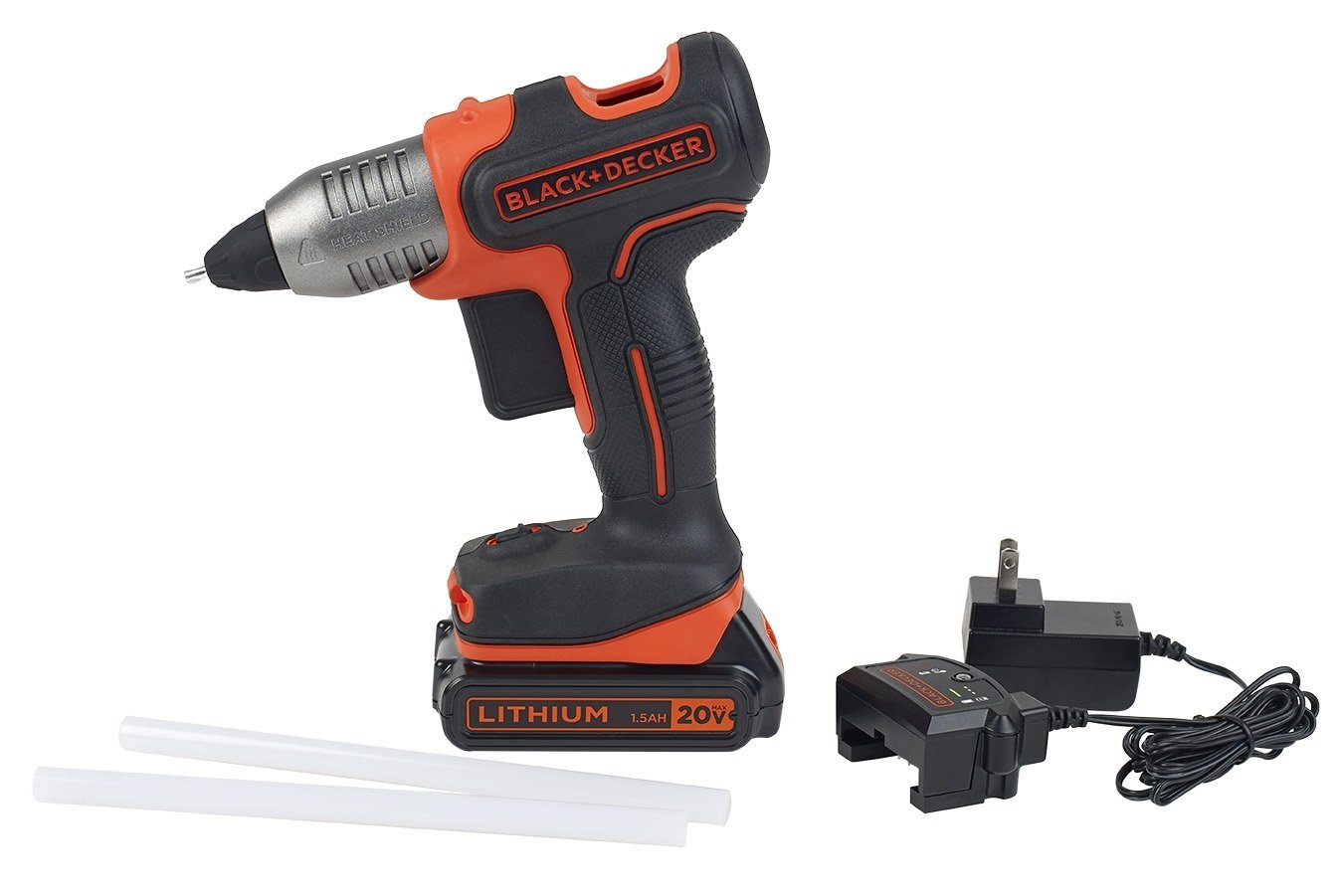 Black & Decker 20v Cordless Glue Gun System