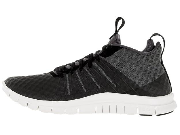 online retailer 80c28 98f6e Nike Men s Free Hypervenom 2 FS Black Dark Grey Ivory Running Shoe 8 Men  US  Buy Online at Low Prices in India - Amazon.in