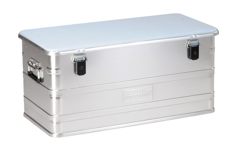 330x430x275 mm 29/L plateada H/ünersdorff ECO-Box Aluminio