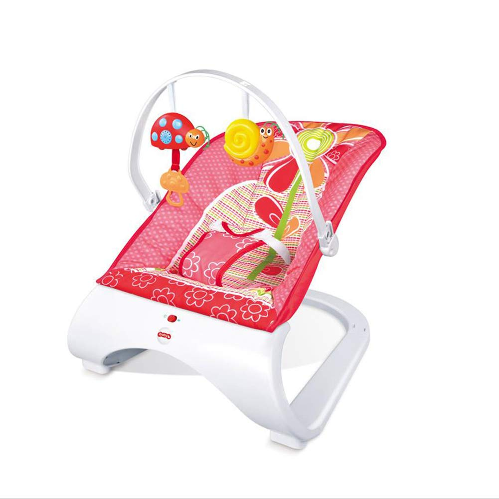 Baby Multi-Function Vibration Rocking Chair, Baby Puzzle Detachable Rattle Rocking Chair Children Casual Lying by ZZLYY
