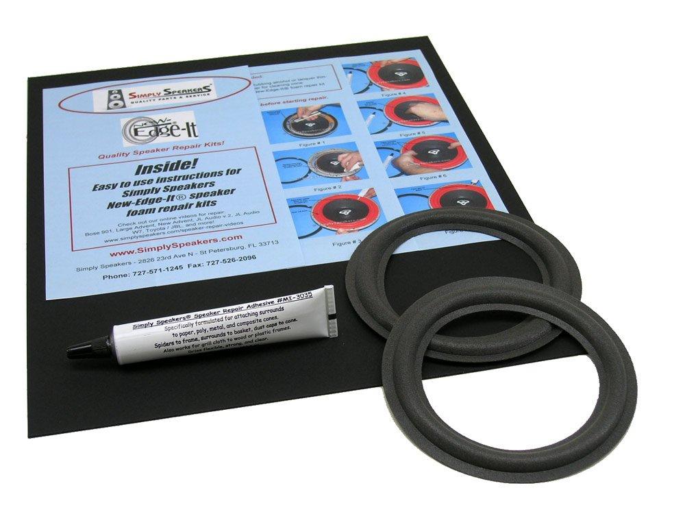 JBL Speaker Foam Edge Replacement Repair Kit, 5'', FSK-5L