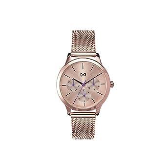 Mark Maddox Reloj Analogico para Mujer de Cuarzo con Correa en Acero Inoxidable MM7104-97: Amazon.es: Relojes