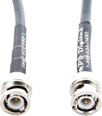 75ft LMR-400 Times Microwave Coaxial Cable PL259 BNC Male 75 ft