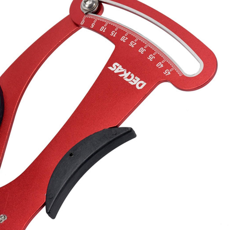 FairytaleMM Herramientas de reparaci/ón de Bicicletas Bike Spoke Tension Meter Measures For Bike Repair Tools Color: Rojo y Negro