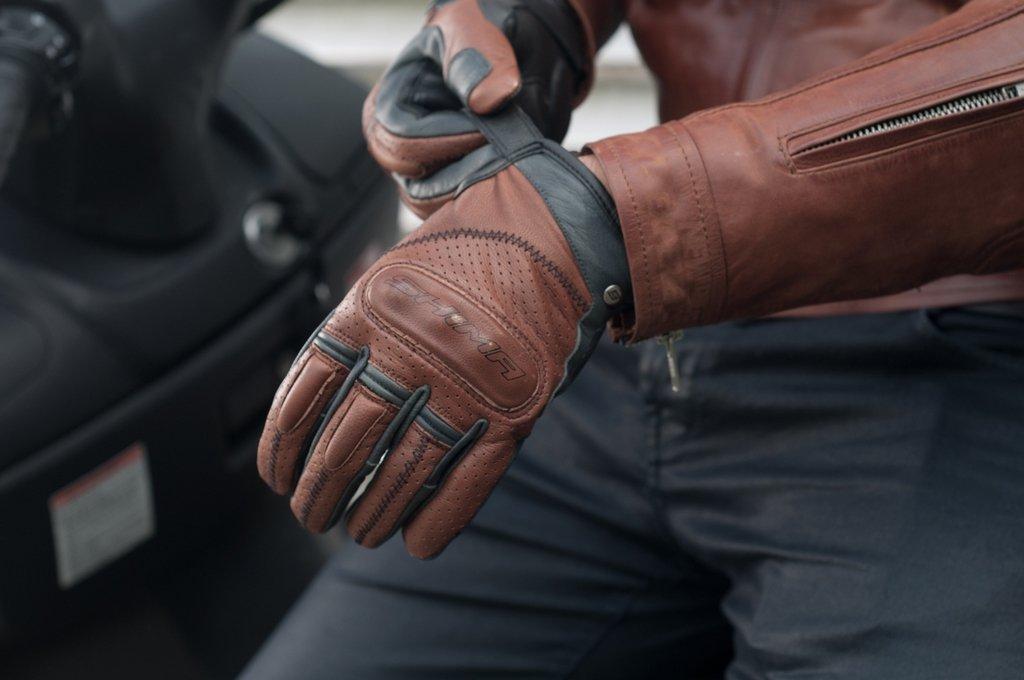 S-XXL SHIMA Caliber White Size:L Heritage Retro Vintage Classic Summer Motorcycle Gloves White