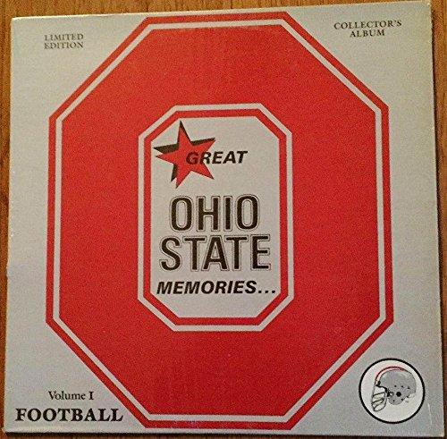Great Ohio State Memories VOLUME 1 FOOTBALL Vinyl LP