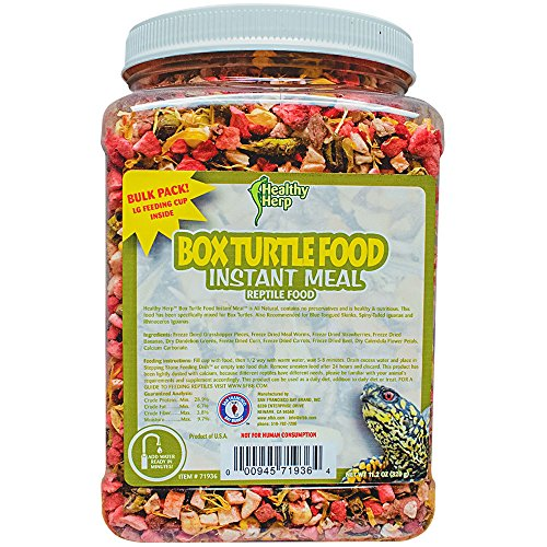 Healthy Herp Box Turtle Food Instant Meal Bulk 10.5-Ounce (310 Grams) ()