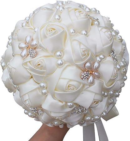 Bouquet Da Sposa Prezzi.Gtfhuh Miglior Prezzo Crema Perle Bouquet Da Sposa Bouquet Di