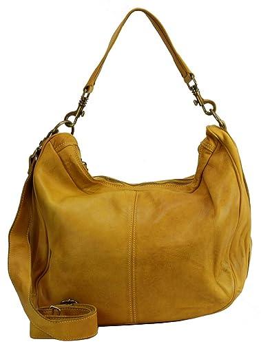 0a512ea6a114d Italy Bzna Sia Designer Damen Bag Gelb Giallo Handtasche Ee9IHYWD2