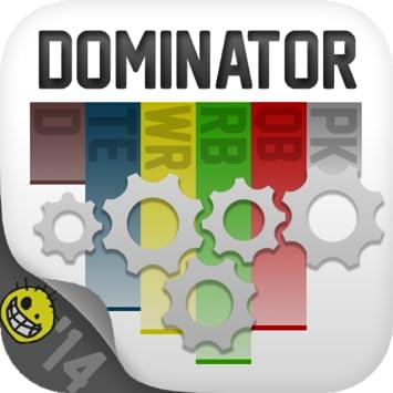 Amazon Footballguys Fantasy Football Draft Dominator 2014