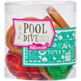 Pool Dive Coins & Jewels 14 Piece Toy Set by Toysmith - Colors Vary