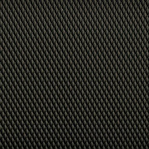 Antirutschmatte Schubladeneinlage Küche Wabe 473mm Meterware 1,5m Länge  schwarz