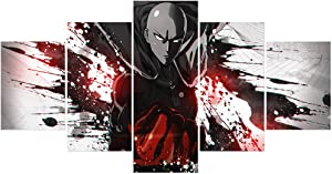 One Punch Man Prints on Canvas Posters Unframed Wall Art Decoration Gifts for Boys