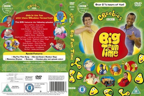 Cbeebies Big Fun Time Dvd Amazon Dvd Blu Ray