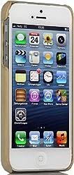 Style bien Exclusif Cover pour l'arrière Pour Apple iPhone 5& iPhone 5s, kaki
