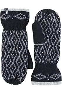 Tokyo Laundry Women/'s Coops Fleece Lined Knitted Gloves Mittens