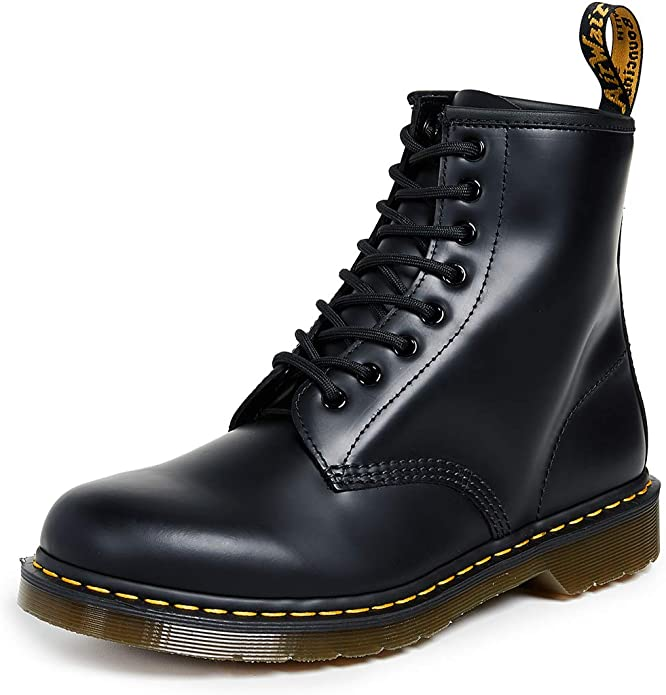 1. Dr. Martens 1460 Original Leather Boots