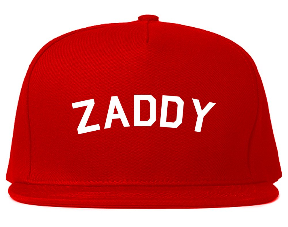 Kings Of NY Zaddy Mens Snapback Hat Red by Kings Of NY