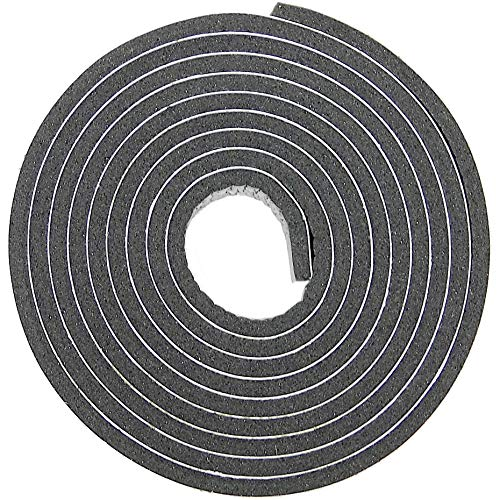 """Price comparison product image Hat Tape Roll 60"""" (5 Feet) Hats Size Reducer Foam Sizing Strip Insert for Fedora"""