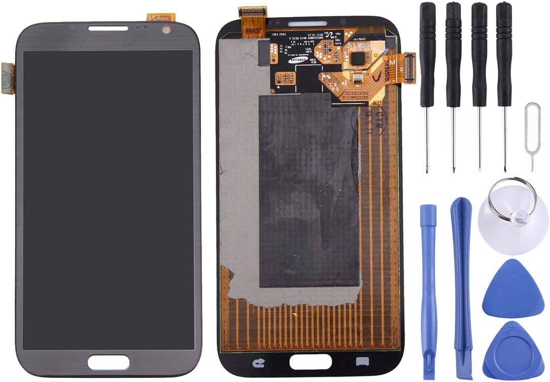 Touch Panel for Galaxy Note II // N7100 Color : White White LIYUNSHU LCD Display