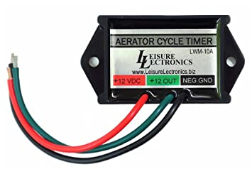 61Eq9W8vDqL._SX355_ amazon com leisure lectronics automatic livewell timer aerator rig rite livewell timer wiring diagram at alyssarenee.co
