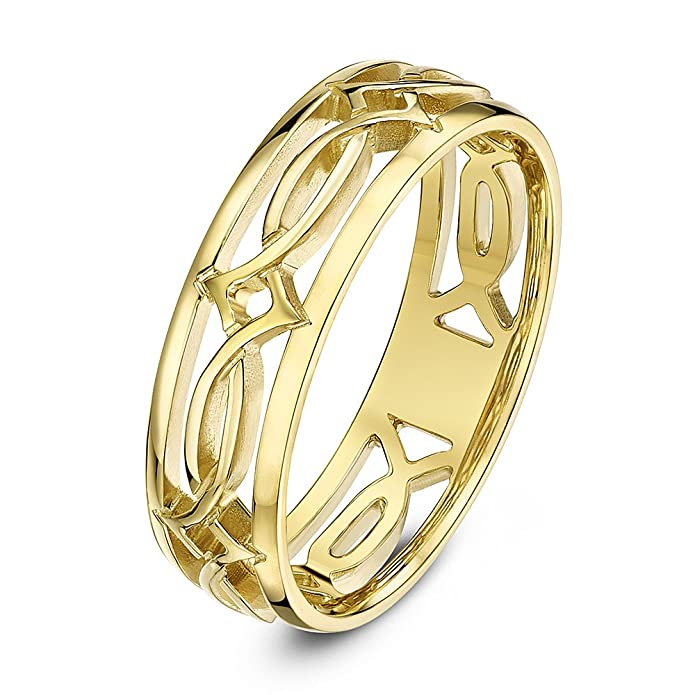 Gents 9ct Yellow Gold Court Shape Medium Weight Wedding Ring in sizes Q-Z+4