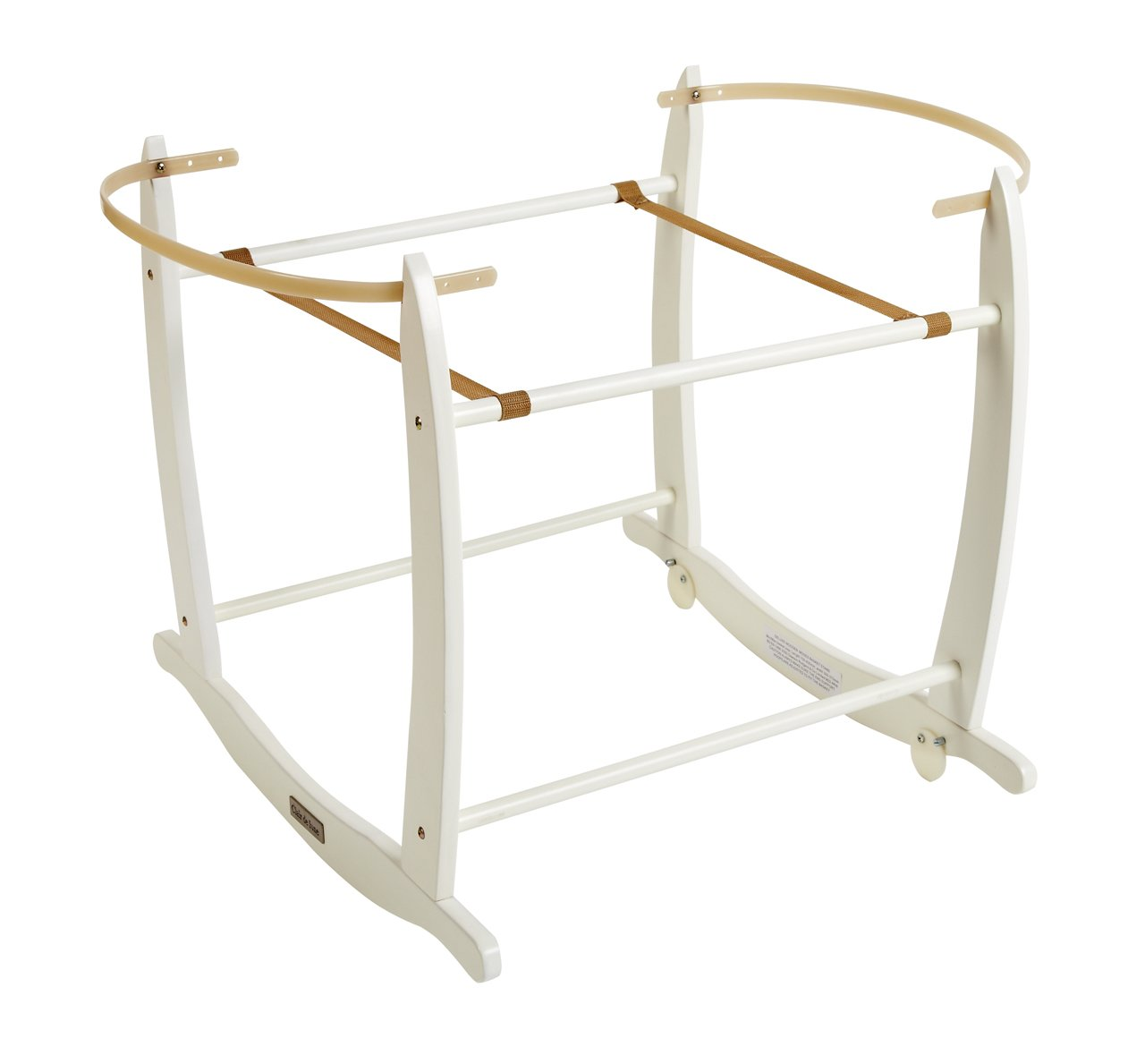 Clair de Lune Deluxe Rocking Stand (White) BabyCentre CL4281W