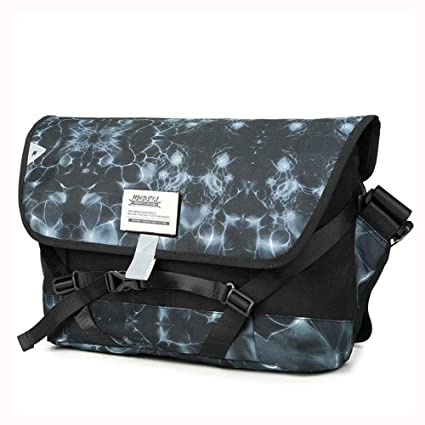 b0080046ff65 Amazon.com: MZTYX Us Casual Night Reflective Strip Riding Bag ...
