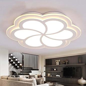 ZHANGRONG Gute Qualitt Kreativ Blumenfrmig Ultra Dnne LED Niedlich Warmes Bgeleisen Deckenleuchten Wohnzimmer Fr Kinder Schlafzimmer