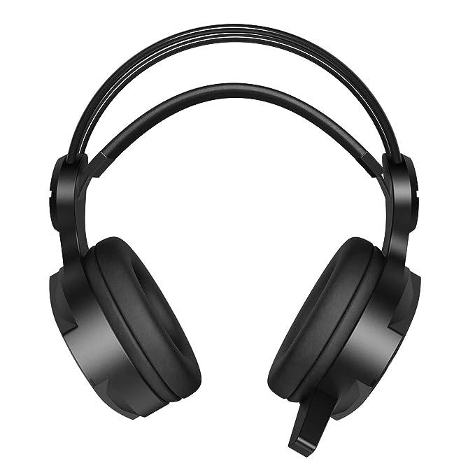 LanLan Auriculares estéreo inalámbricos con Bluetooth para Juegos HiFi con micrófono para PS4 Fortnite Xbox One, Casco de Videojuego: Amazon.es: Hogar