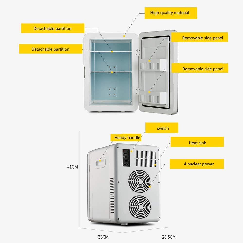 Refrigerador PequeñO Refrigerador Lcd 20L, Mini Refrigerador ...