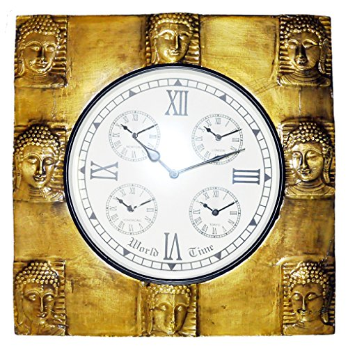 Decorative Handmade Mahatma Buddha Art Work Design Wall Clock