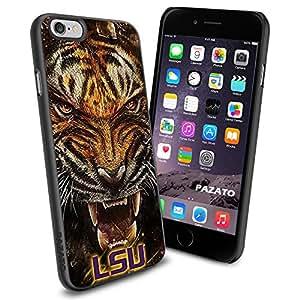 iPhone 6 Print Case Cover Louisiana State University LSU Tigers Logo Protector Black PAZATO?