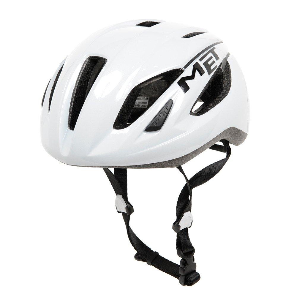 メット ストラ―レ ホワイト ヘルメット M(52/58cm)   B01LXAUC1T