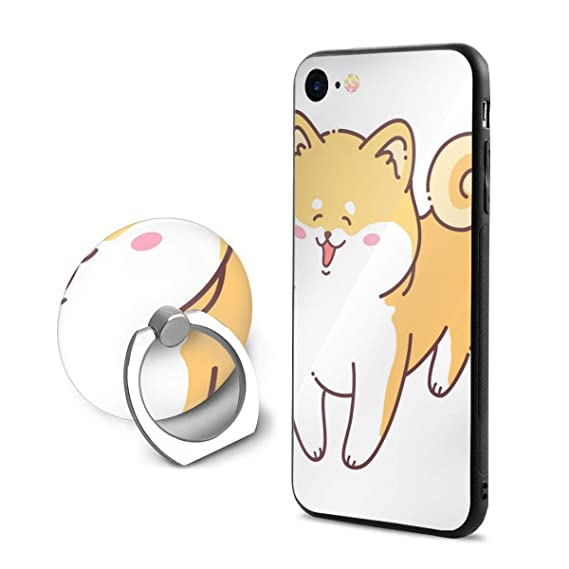 quality design d4278 2e7c6 Amazon.com: Beautiful Dog Gifts Light Yellow iPhone 7 Case with Grip ...