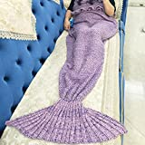 Image of 2013Newestseller Soft Mermaid Blanket Tail for Adult and Child All Seasons Sleeping Blankets (Pink)
