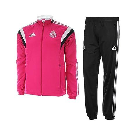 Adidas Chándal Real Madrid Presentación -Rosa- 2014-15 ...