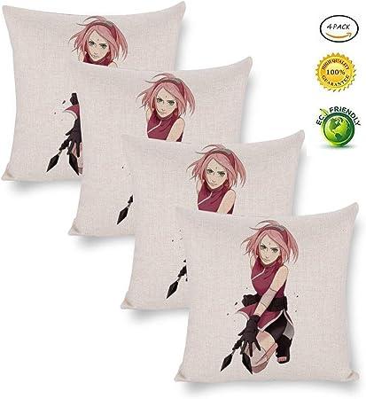 Pillow Cases Naruto Sakura Haruno Throw