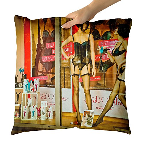 Westlake Art - Display Window - Decorative Throw Pillow Cush