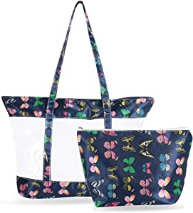 Sweepstakes: Transparent Totes Bags Atrest High Capacity…